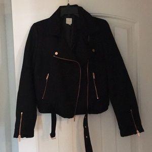 Lauren Conrad Runway Faux Suede Jacket